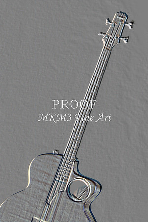 507.1835 Taylor AB1 Acoustic Electric Bass Embossed