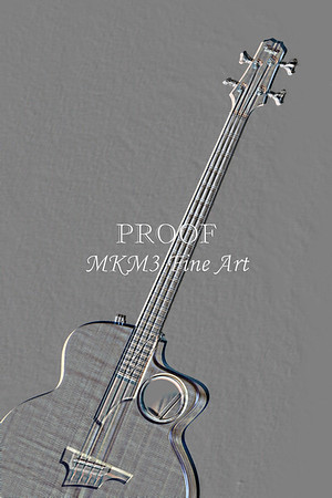 505.1835 Taylor AB1 Acoustic Electric Bass Embossed