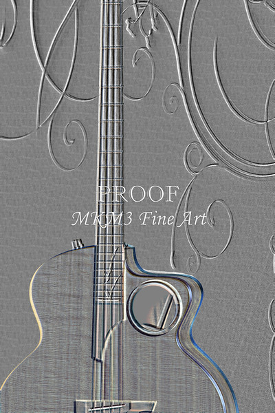 509.1835 Taylor AB1 Acoustic Electric Bass Embossed