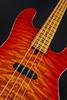 Don Grosh Bent Top Vintage T Bass in Vintage Cherry Burst