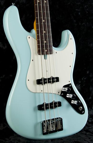 J4 Bass #3245 Sonic Blue, Grosh Vintage JJ Pickups, Hipshot Bridge, and Keys.