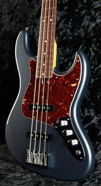 J4 Bass #3250 Charcoal Frost Metallic, Grosh Vintage J Pickups, Hipshot Bridge and Keys.