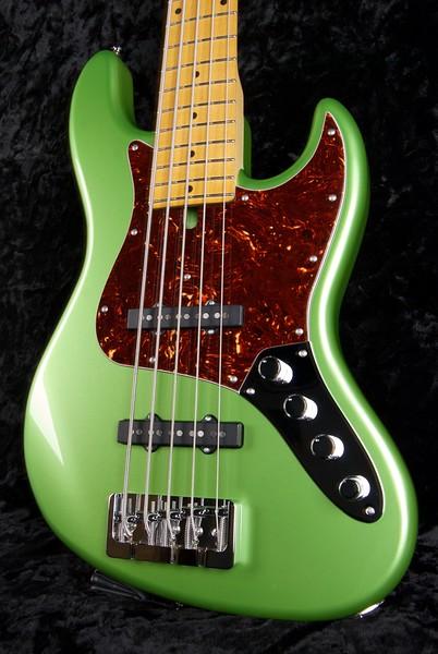 J5 Bass #3592, Metallic Lime Green, Grosh J5 pickups