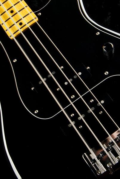 P4 Bass #3266, Black Finish, Grosh Vintage PJ Pickups, Hipshot Bridge, and Keys.