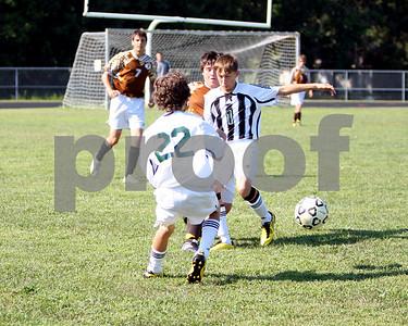 JV boys Soccer vs Western Brown 8/19/10