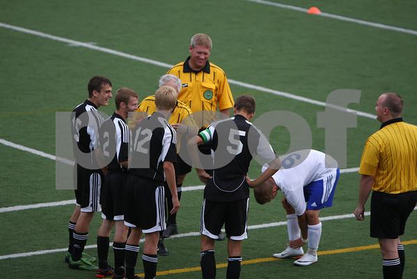 Varsity boys soccer at Mariemont 8/24/10