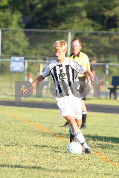 Varsity boys soccer vs Western Brown 8/19/10