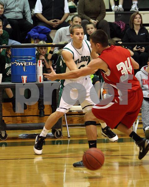 Varsity basketball vs East Clinton  12/17/10