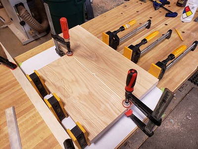 body blank glue up