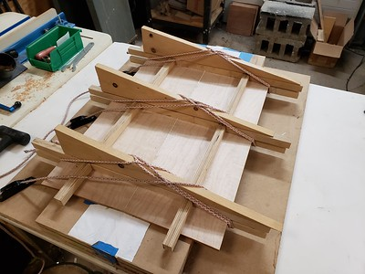 top glue up