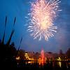 Reunion 2015 Fireworks at Lake Andrews