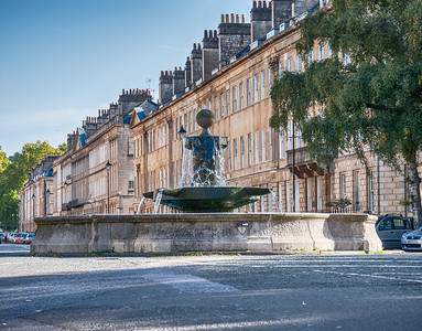 A view of Great Pulteney Street