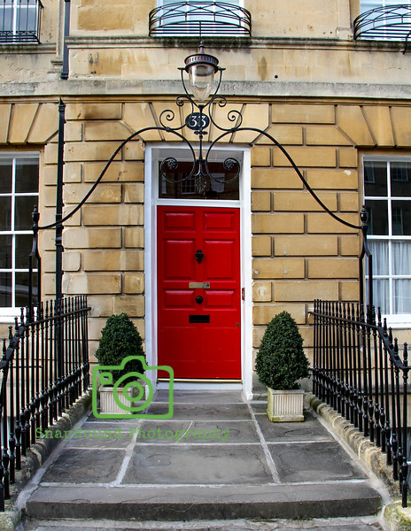 Georgian Doors of Bath, England