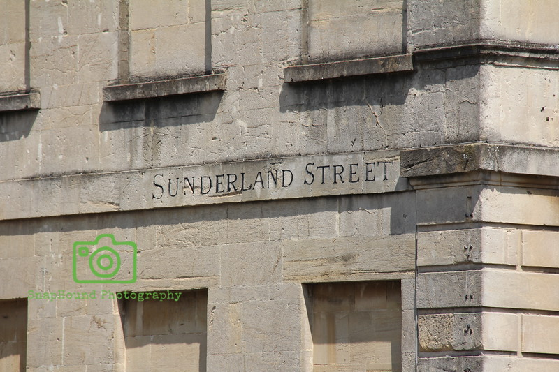 Georgian Street Names of Bath