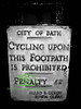 Cycling Prohibited!