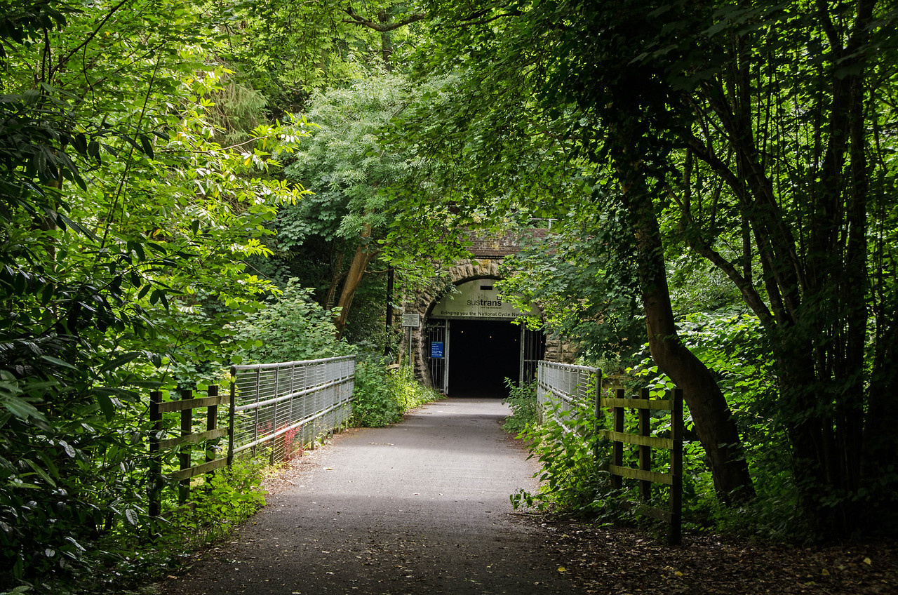 The approach to Combe Down Tunnel
