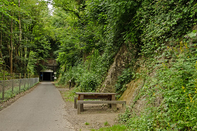 Looking back at Combe Down Tunnel.