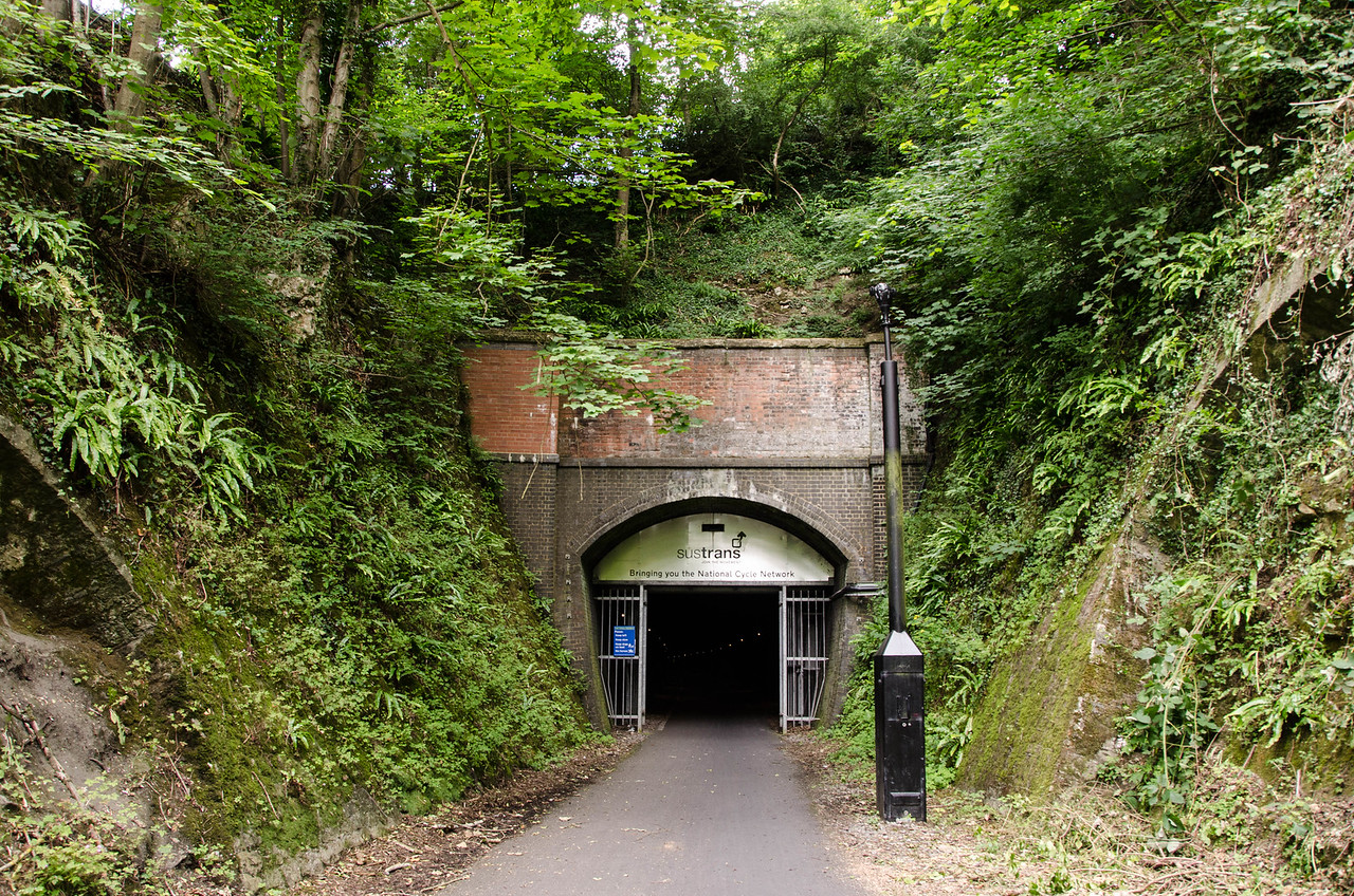 The Midford end of Combe Down Tunnel.