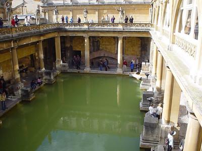 The Main Bath (1)  Balcony shot of the main bath.