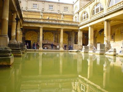 The Main Bath (6)  The Main Bath from down at the same level as the bath