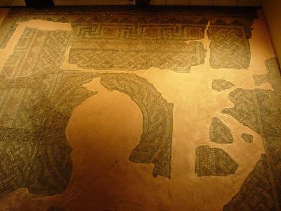 Mosaic Floor  A segment of the original mosaic floors.