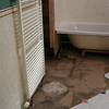 Refurbishment of existing shower area after water damage.