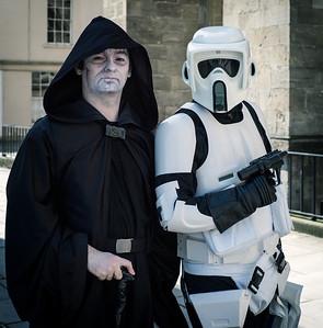 Emperor & Stormtrooper