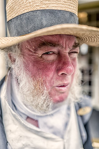 Martin Salter as Mr. Bennet, at the Jane Austen Centre, Bath