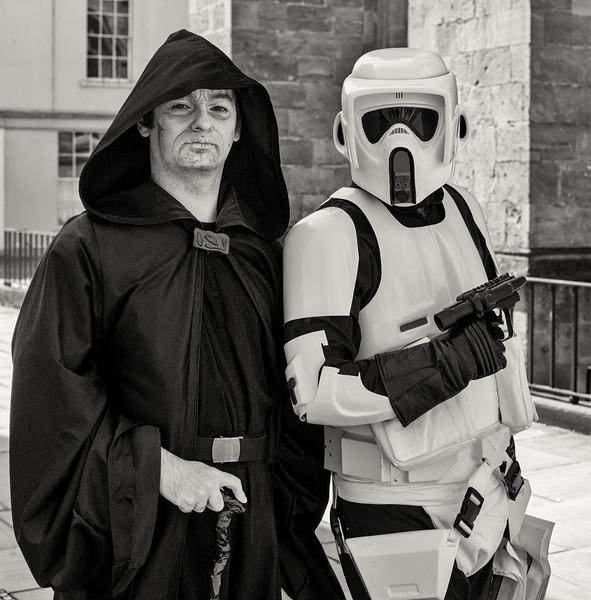 Emperor and Stormtrooper
