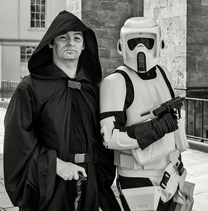 Emperor and Stormtrooper