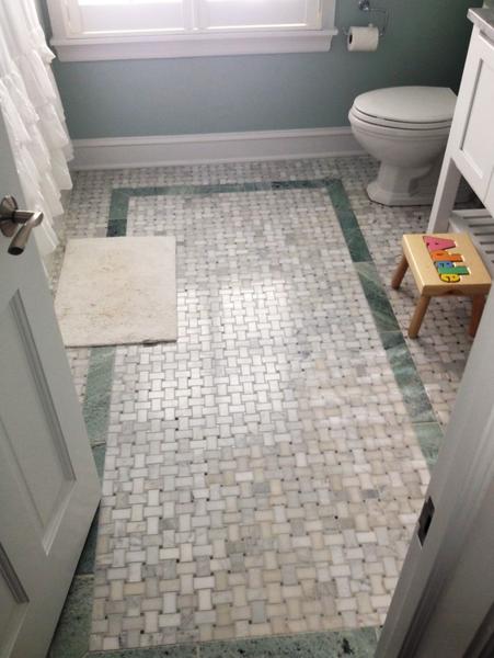Bathroom Remodel Project - Wilmette, IL