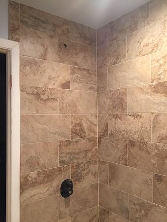 Upstairs Bathroom Remodel 11/2017
