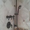 Upgraded Moen shower fixture