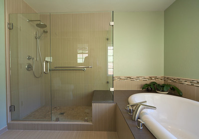 Schuetz Master Bath Zen bathroom