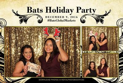 Bats Global Holiday 2016