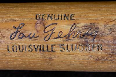 Lou Gehrig (HOF '39) 1950/1955 Louisville Slugger; G69 Pro Model