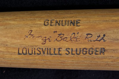 Babe Ruth 1961/1964 Pro Model Louisville Slugger R43 Bat
