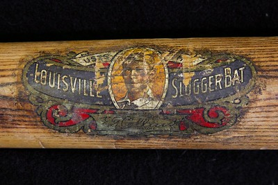 Eddie Collins (HOF '39) 1910/1915 Decal Bat; JF Hillerich & Son Co; 40EC
