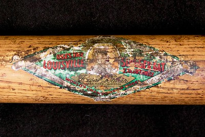 Frank 'Home Run' Baker (HOF '55) 1910/1915 Decal Bat; JF Hillerich & Son Co.; 40FB