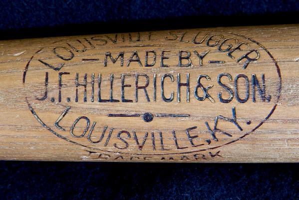 JF Hillerich & Son Bat; 1900 - 1905