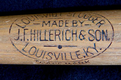 JF Hillerich & Son Bat; 1900/1905