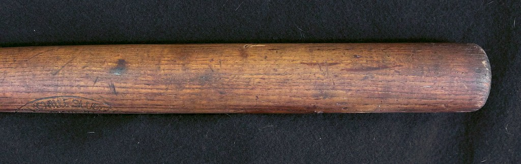 "JF Hillerich & Son Pro Model Bat; 1900/1905; 33"" and 45 oz."