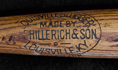 JF Hillerich & Son; 1900/1905 Early Ball Balanced Bat