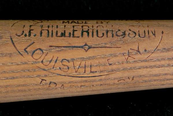 JF Hillerich & Son Bat 1897/1900
