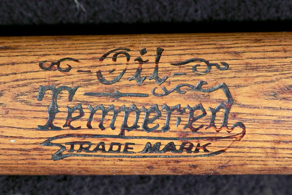 JF Hillerich & Son Co. 1914/1915; Rare Early 125 Pro Model Bat; Oil Tempered