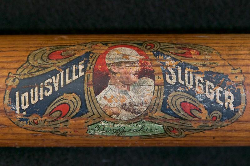 Tris Speaker 1916/1922 Decal Bat; Dash-Dot-Dash