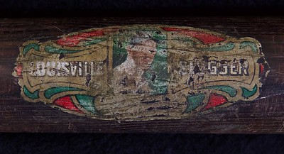 Joe Jackson 1910/1915 Decal Bat; JF Hillerich & Son Co; 40JJ