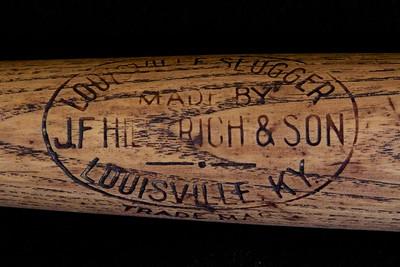 JF Hillerich & Son bat; 1905/1910