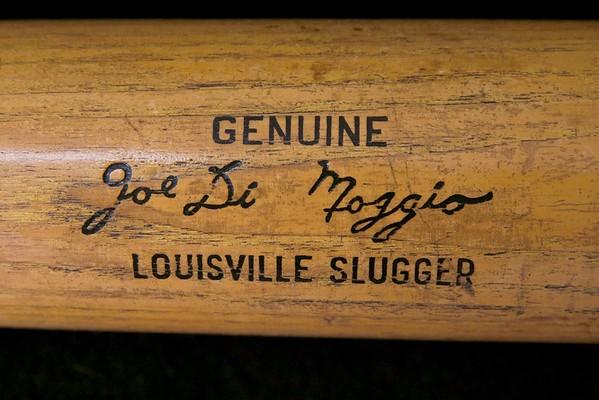 Joe DiMaggio 1964 Louisville Slugger