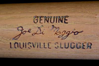 Joe DiMaggio 1968/1969 Pro Model D29L Bat; Personal Collection